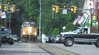 CSX Office Car Special on the Ohio River and the Short Line Subdivisions