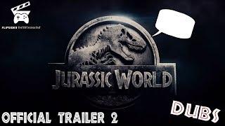 DINOS REACT to Jurassic World: Fallen Kingdom Trailer #2