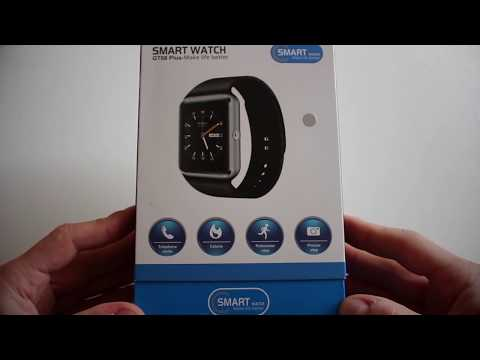 GT08 Plus (QW08) Android 4.4 Smartwatch 3G | WiFi | BT-4.0 📦 UNBOXING