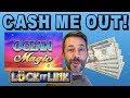 CASH ME OUT! ✧ 5 SLOT MACHINES $20 EACH ✧ OCEANS MAGIC ✧ LOCK IT LINK ✧ STAR RISE