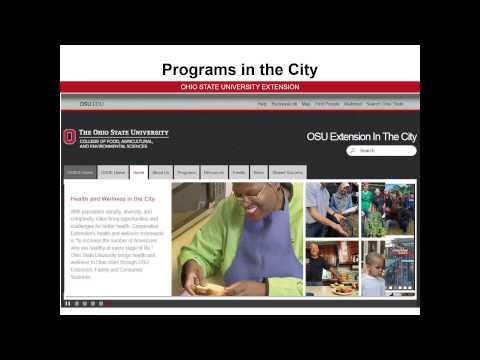 Ohio State University  OSU in the City
