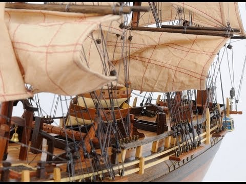 HMS Bounty Scale Model Ship
