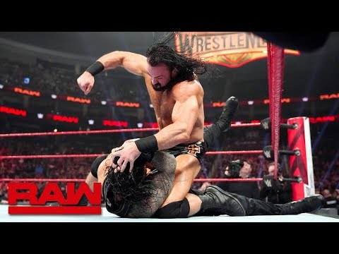 Drew McIntyre brutalizes Roman Reigns: Raw, March 11, 2019