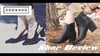 Classic Shoes Rain Bootie and Pointed Heel Zooshoo Shoe Review J Adams
