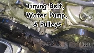 Acura TL (Honda Accord V6) Timing Belt, Water Pump, & Pulleys Replacement