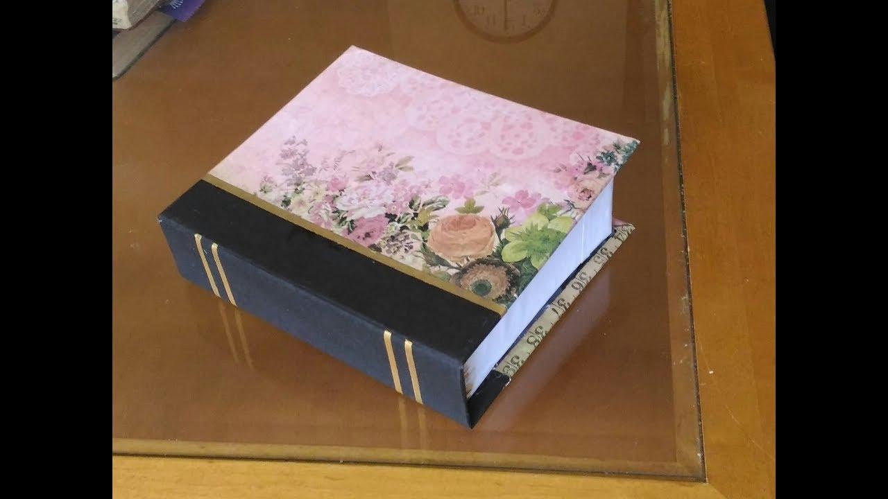 how to make book  u0d2c u0d4b u0d15 u0d4d u0d38 u0d4d u200c   secret storage box idea   u0d07 u0d19 u0d4d u0d19 u0d28 u0d46