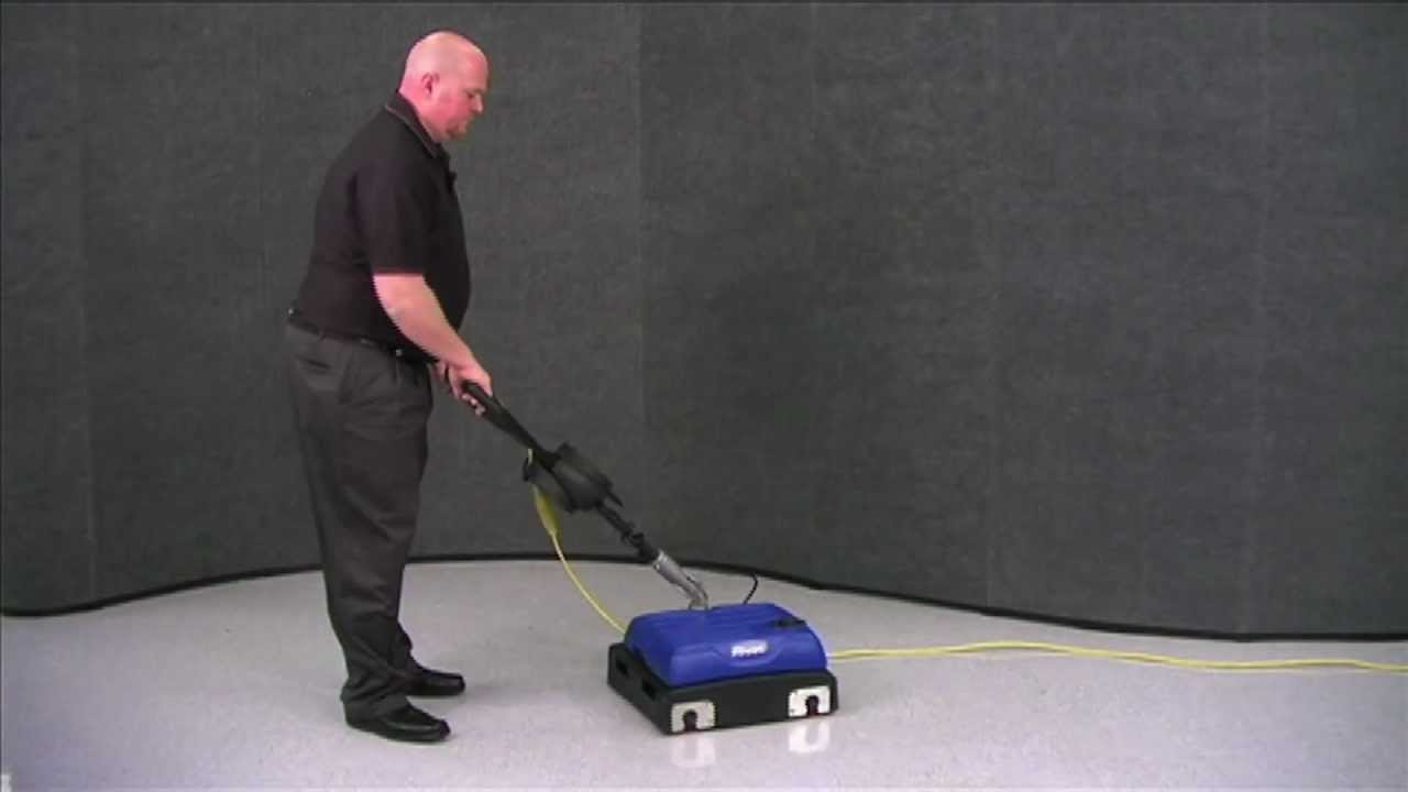 Windsor Pivot Dual Brush Cylindrical Automatic Floor Scrubber - Floor scrubers