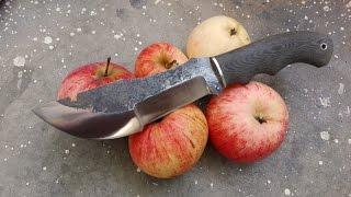 Like a knife TOPS Tom Brown Tracker - How to do it