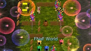 прохождение FNaF World на Android (фанатский) #4 - Пещера,цирк и Тень Фредди