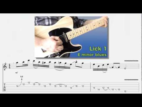 E minor Blues Lick