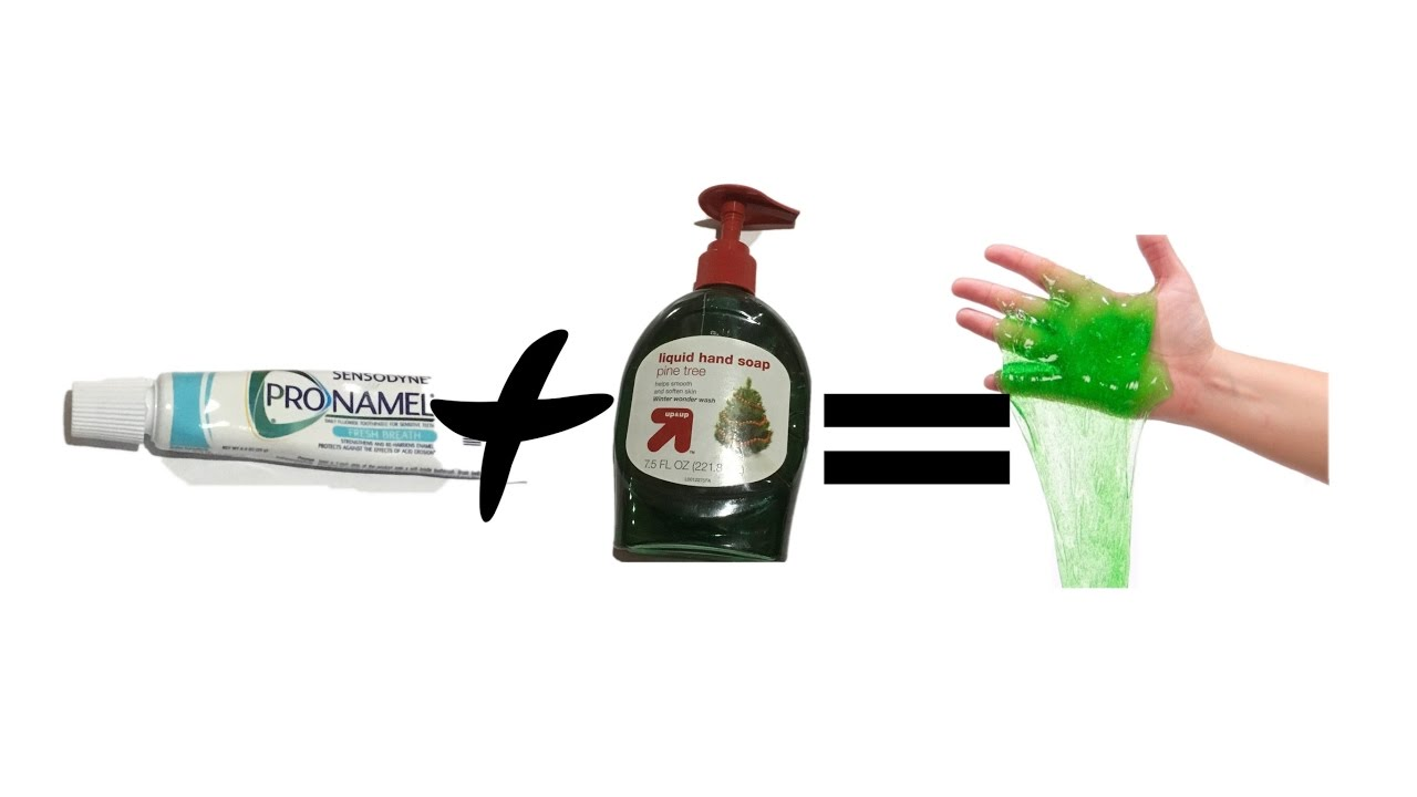 how to make slime with toothpaste only