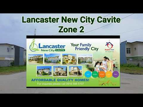 Lancaster New City, Cavite - Quick Tour In Zone 2 House And Lot (2018)