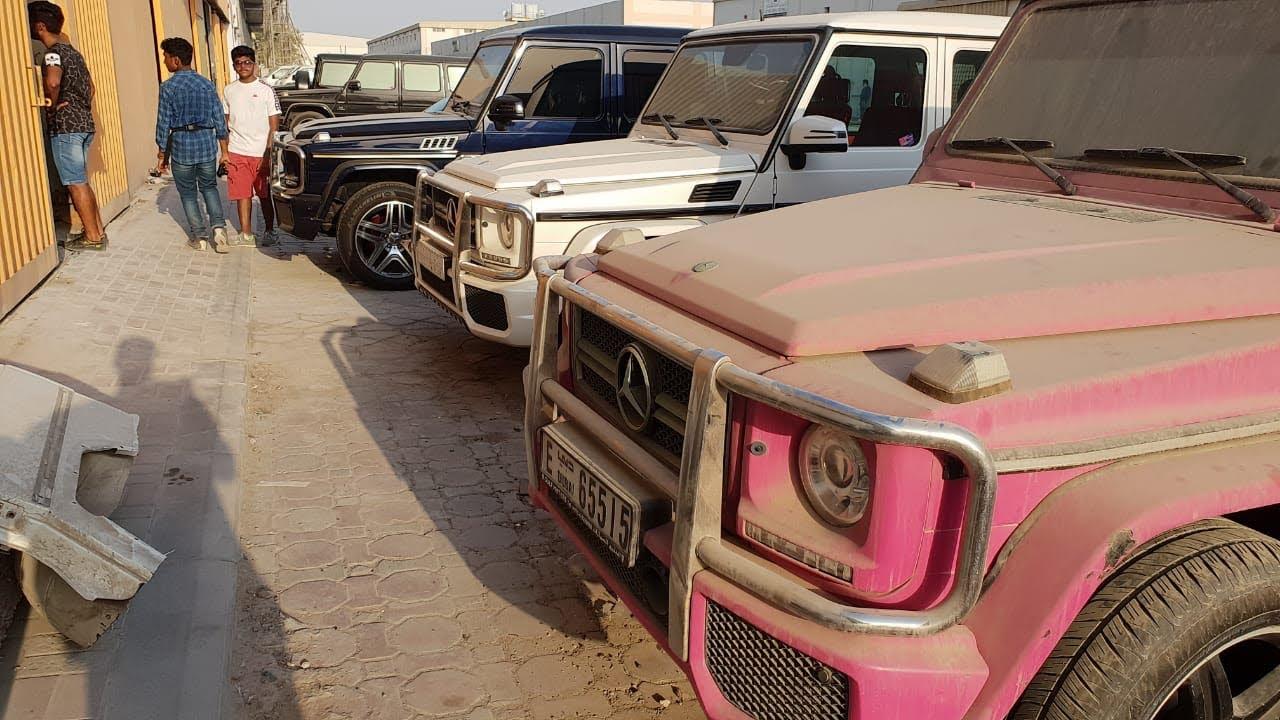 Abandoned Cars In Dubai >> ABANDONED CARS IN DUBAI-BILLIONAIRE'S EDITION(ROLLS ROYCE,G WAGONS,PORSCHE) - YouTube