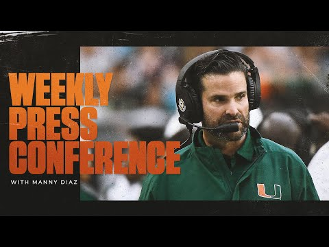 Manny Diaz Weekly Press Conference | 9.6.21