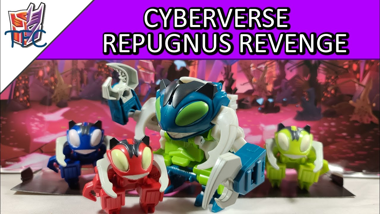 TF Collector Cyberverse Repugnus Revenge Review!