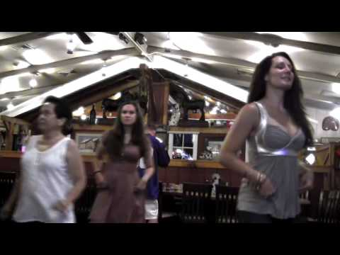 Country Fusion Line Dance #1 at Randolph Barn Sept 18, 2016