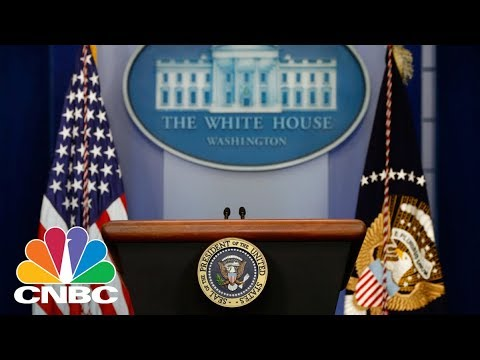LIVE: White House Holds Daily Press Briefing - April 13, 2018 | CNBC