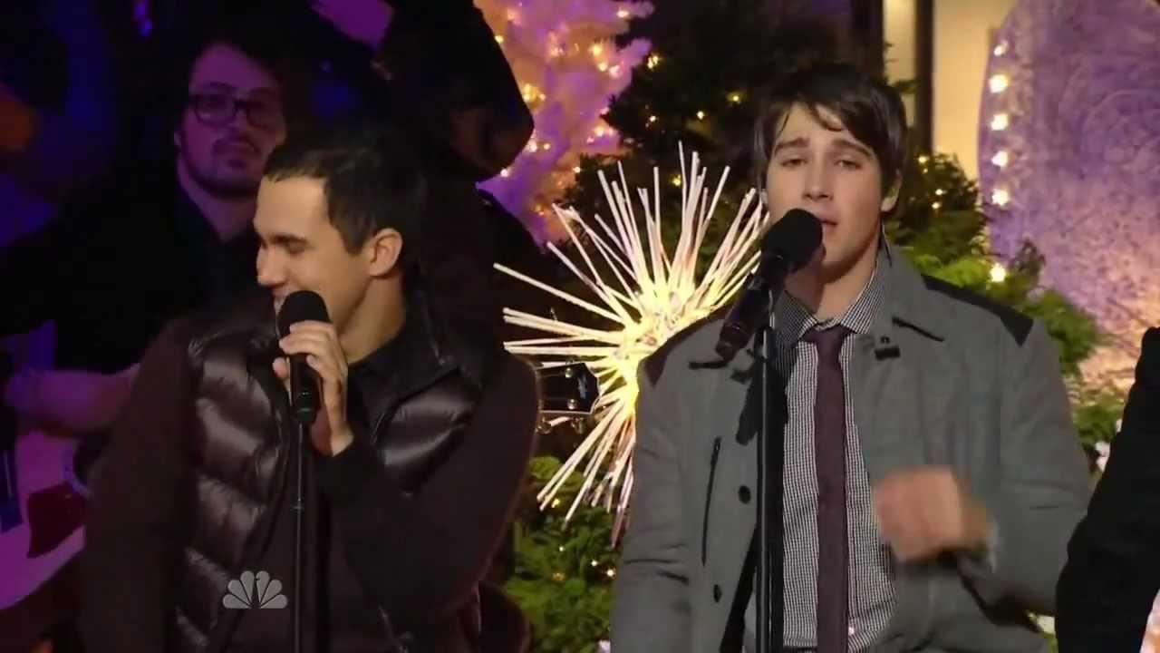 big time rush beautiful christmas live at rockefeller center 30 nov 2011 - Big Time Rush Beautiful Christmas