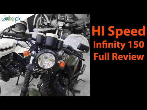 Hi Speed 150 Infinity Price in Pakistan 2018 Bike 150cc Video ebike.pk