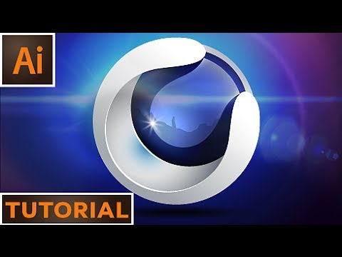 Create a 3D sphere logo - Adobe Illustrator