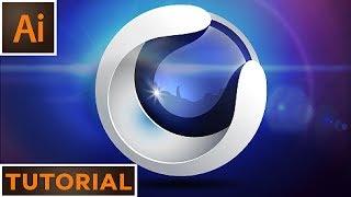 Create a 3D sphere logo - Adobe Illustrator