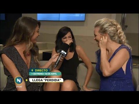 Entrevista a Oriana y Luisana en la Avant Premiere de Perdida  Telefe