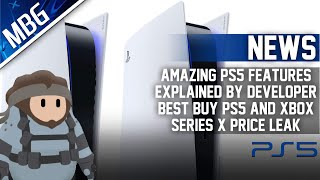 Major PS5 Features Revealed By Developer, Best Buy Leaks PS5 & Xbox Series X Price? (PS5 News)