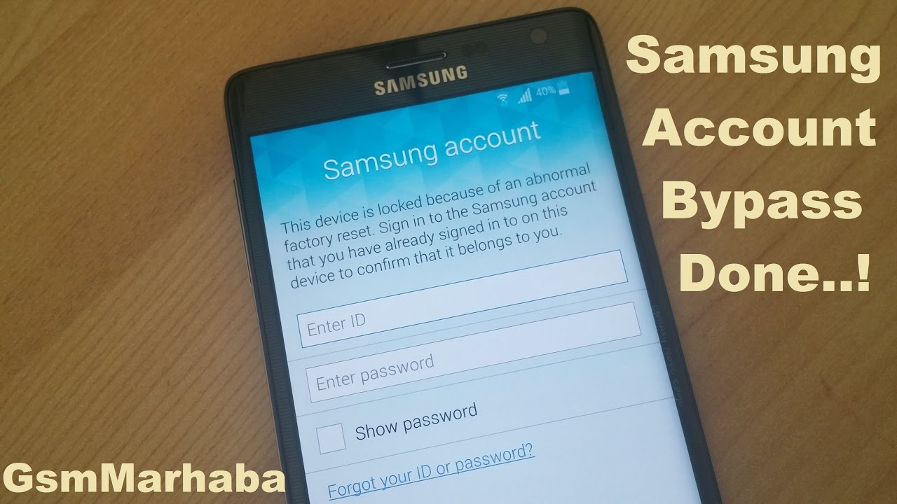Samsung Account Verification Bypass With OTG - Done