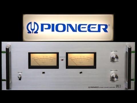 SPEC-2 - The Most Powerful Pioneer Power Amplifier Ever! Vintage Stereo Repair Restoration Testing.