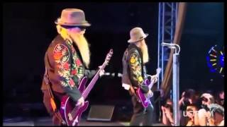 ZZ Top - Waitin' for the Bus / Jesus Just Left Chicago  (Bonnaroo 2013)