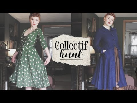 Vintage Reproduction Try-On Haul! || Collectif Clothing