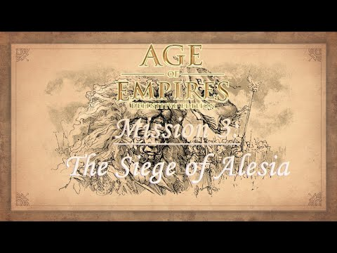 Age of Empires Definitive Edition - Ave Caesar Campaign, Mission 3: The Siege of Alesia