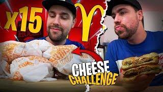 Je tente le Cheese Challenge Mcdo de Michou et Doc Jazy