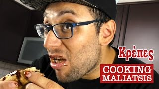 Cooking Maliatsis - 09 - Κρέπες