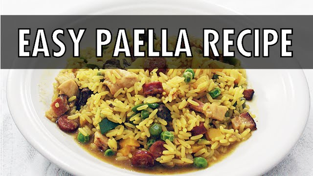 Bbc good food easiest ever paella easiest ever paella recipe bbc easiest ever seafood risotto recipe bbc good food forumfinder Choice Image