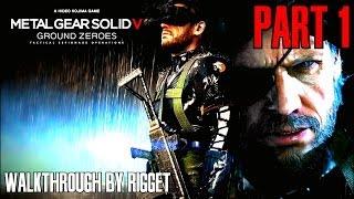 видео Видео прохождение Metal Gear Solid V: Ground Zeroes