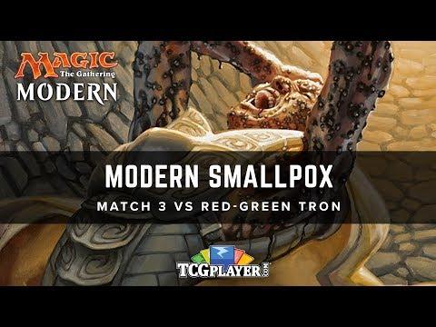 [MTG] Modern Smallpox | Match 3 VS Red-Green Tron
