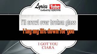CIARA - I GOT YOU | Official karaoke musik video