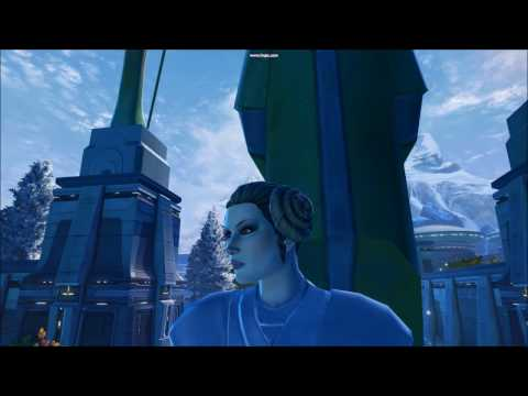 Star Wars the Old Republic Fan-Made Tribute to Carrie Fisher