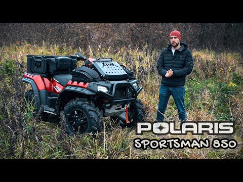 Polaris Sportsman 850 - что это?
