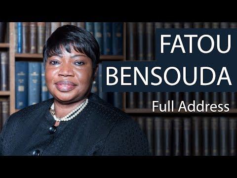 Fatou Bensouda | Full Address | Oxford Union