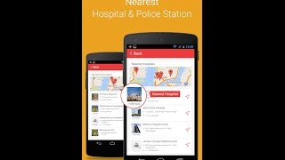 App helps to find Nearest Hospital