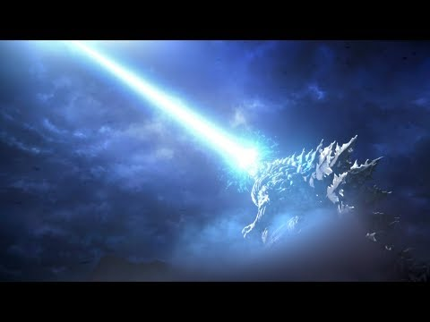 不愧是怪兽之王!哥斯拉喷出原子吐息,一下就轰爆了虫洞!速看科幻电影《哥斯拉:噬星者》