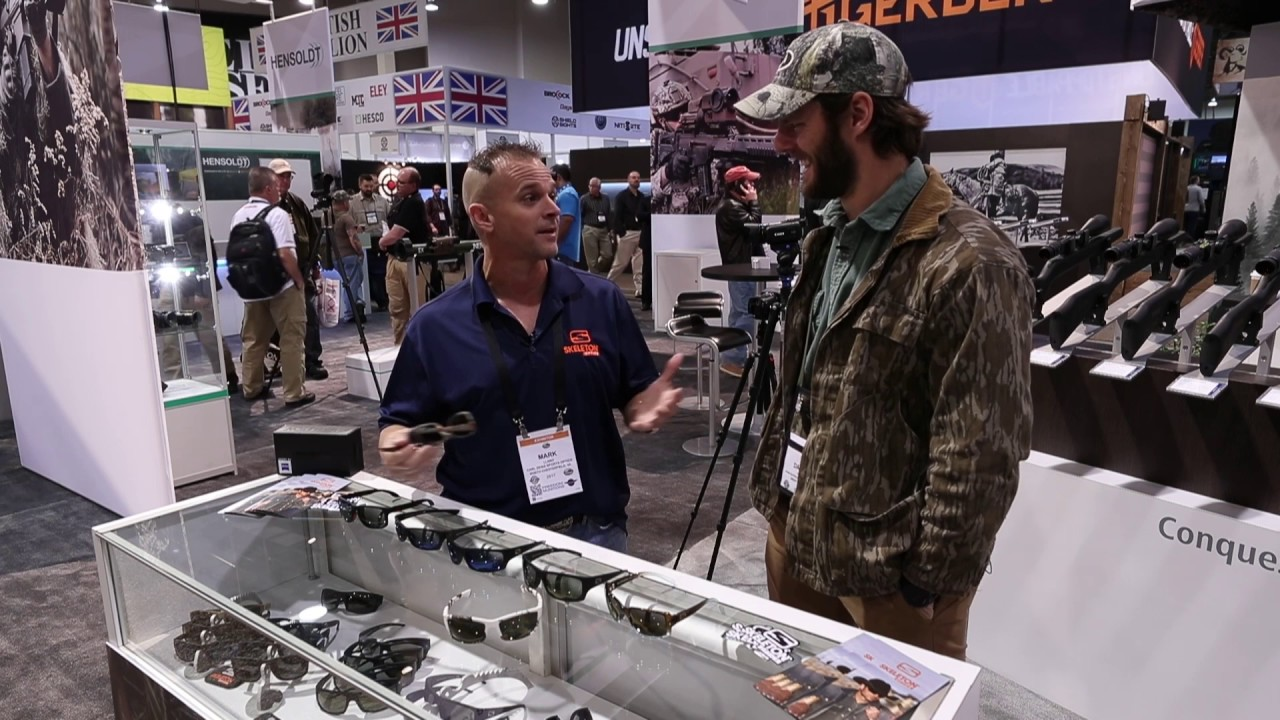 767da795eab Mossy Oak Live at Shot Show 2017 - Skeleton Optics - YouTube