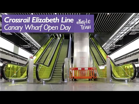 Canary Wharf Station Open Day
