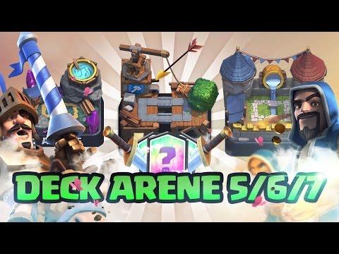 Clash royale presentation de deck pour arene 5 6 7 for Deck arene 7 miroir