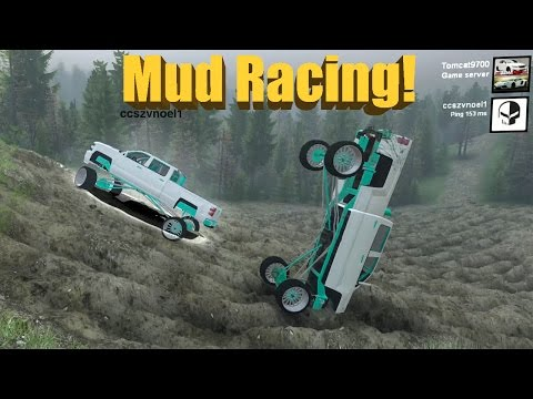 Spin Tires MUD RACING!