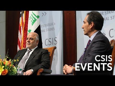 Statesmen's Forum: Iraqi Prime Minister Haider Al-Abadi