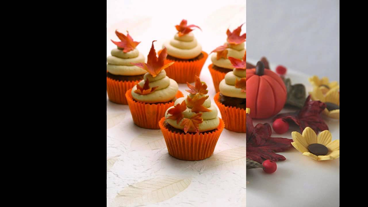 Simple Fall cake decorating ideas YouTube