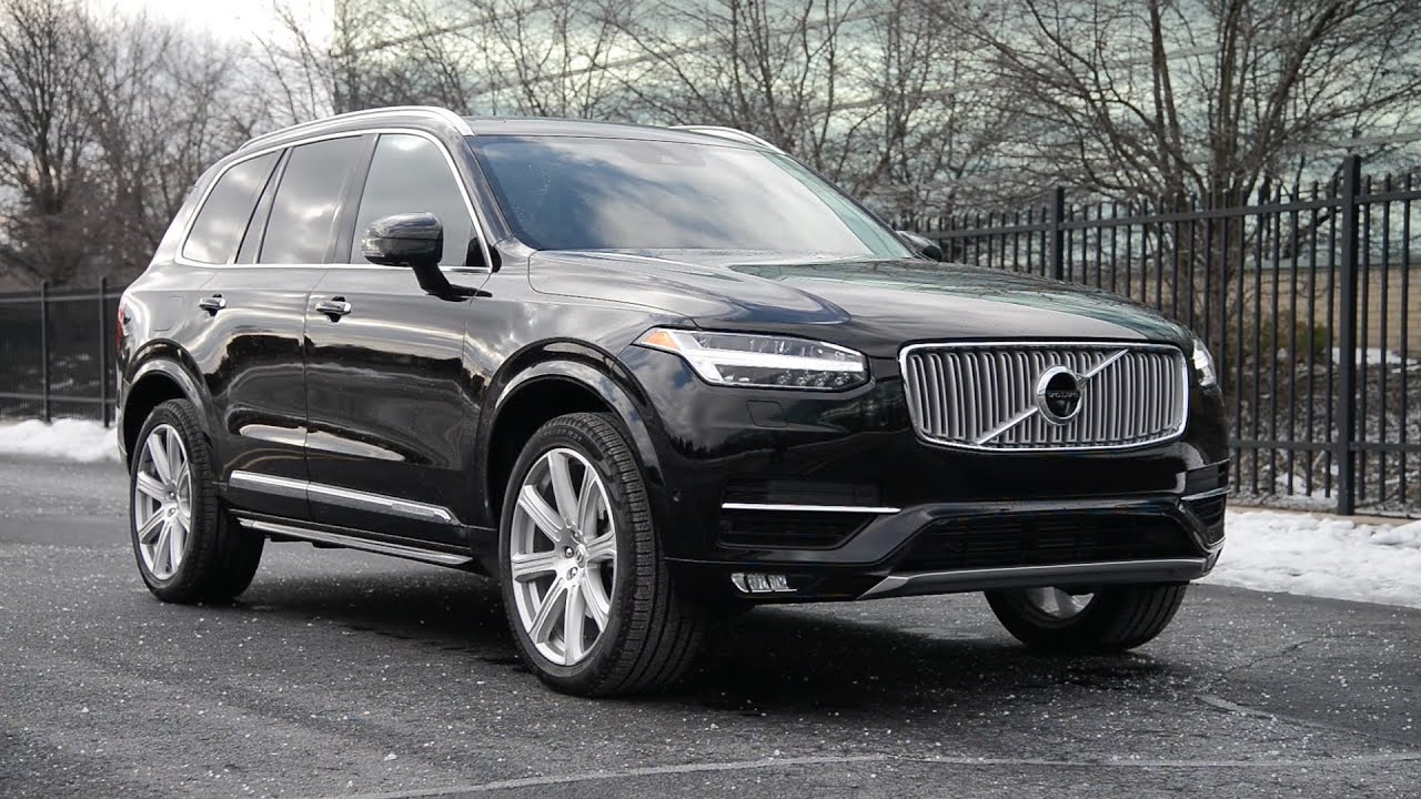 2016 volvo xc90 t6 awd inscription wr tv walkaround. Black Bedroom Furniture Sets. Home Design Ideas